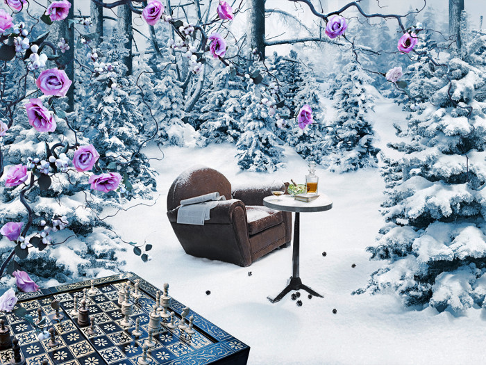 Bucherer_Xmas_Chair